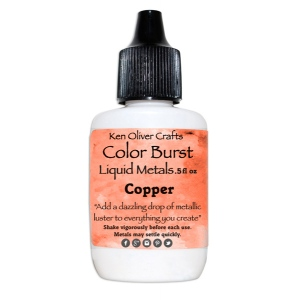 Ken Oliver - Color Burst - Liquid Metals - Copper