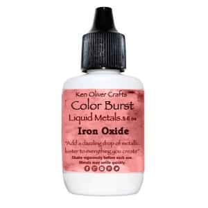 Ken Oliver - Color Burst - Liquid Metals - Iron Oxide