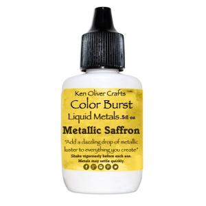Ken Oliver - Color Burst - Liquid Metals - Saffron
