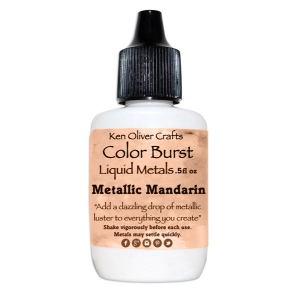 Ken Oliver - Color Burst - Liquid Metals - Mandarin