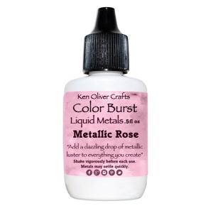 Ken Oliver - Color Burst - Liquid Metals - Rose