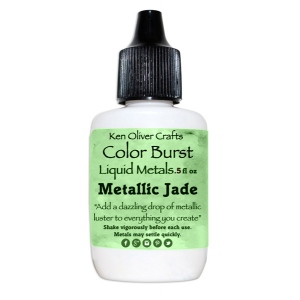 Ken Oliver - Color Burst - Liquid Metals - Jade