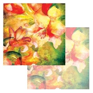 Ken Oliver - Watercolor Florals - Watercolor Tulips 12x12 Paper