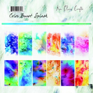 Ken Oliver - Color Burst Splash - 6x6 Collection Pack