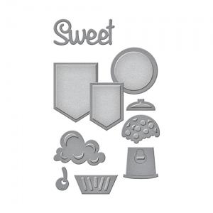 Spellbinders - Die D-Lites - Sweet Set