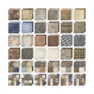 Advantus - Tim Holtz - Ideaology - Paper Stash - Dapper 12x12 Pad
