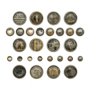 Advantus - Tim Holtz - Ideaology - Fasteners - Dapper