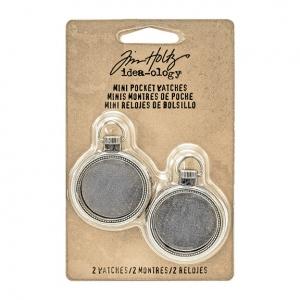 Advantus - Tim Holtz - Ideaology - Mini Pocket Watches
