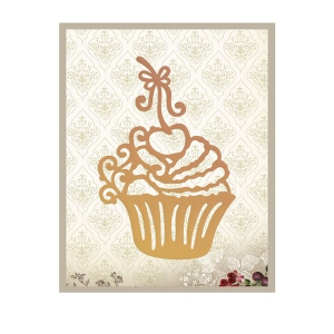 Couture Creations - It's a Beautiful Life - Cherry Cupcake Die