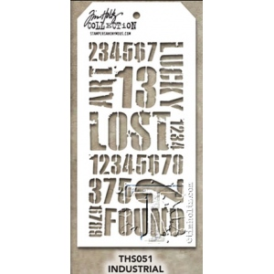 Stampers Anonymous - Tim Holtz - Industrial Stamps