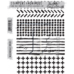 Stampers Anonymous - Tim Holtz - Mixed Media 2 Stamps