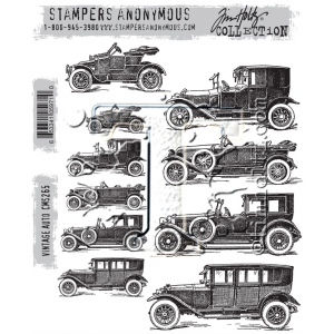 Stampers Anonymous - Tim Holtz - Vintage Auto Stamps
