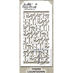 Stampers Anonymous - Tim Holtz - Countdown Stamps