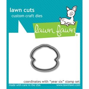 Lawn Fawn - Lawn Cuts - Year Six Dies