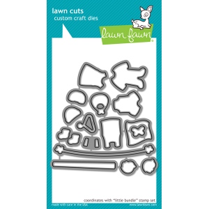 Lawn Fawn - Lawn Cuts - Little Bundle Dies