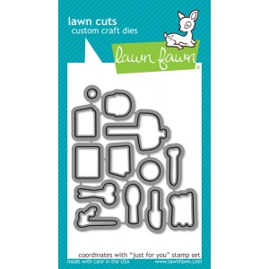 Lawn Fawn - Lawn Cuts - Just for You Dies