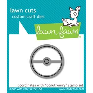 Lawn Fawn - Lawn Cuts - Donut Worry Die