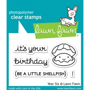 Lawn Fawn - Stamps - Year Six Stamps