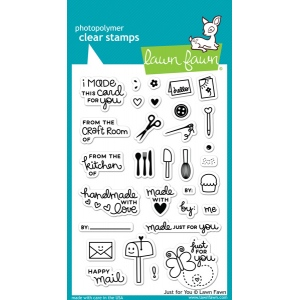 Lawn Fawn - Stamps - Just for You Stamps