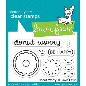 Lawn Fawn - Stamps - Donut Worry Stamps