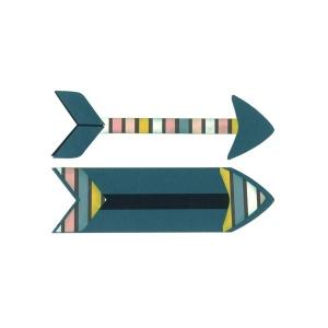 Sizzix - Bigz Plus Die - Arrows by Katelyn Lizardi