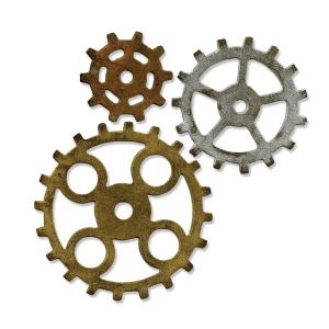 Sizzix - Tim Holtz Alterations - Bigz Die - Gadget Gears #2