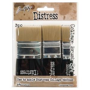 Ranger - Tim Holtz - Distress - Collage Brush 3 Pack Assortment