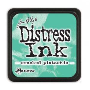 Ranger - Tim Holtz - - Distress Mini Ink Pad - Open Stock - Cracked Pistachio