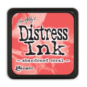 Ranger - Tim Holtz - - Distress Mini Ink Pad - Open Stock - Abandoned Coral