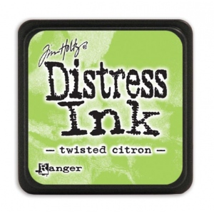 Ranger - Tim Holtz - - Distress Mini Ink Pad - Open Stock - Twisted Citron