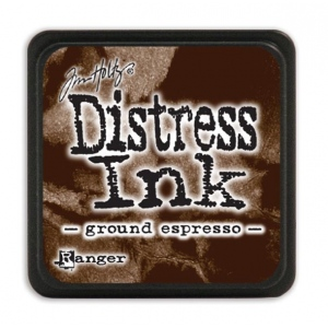 Ranger - Tim Holtz - - Distress Mini Ink Pad - Open Stock - Ground Espresso