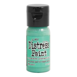 Ranger - Tim Holtz - Distress Paint Flip Cap - Cracked Pistachio