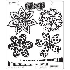 Ranger - Dyan Reaveley - Dylusions - Cling Stamps - Doodle Blooms