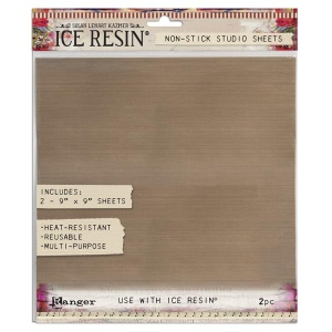 Ranger - ICE Resin - Studio Sheet - 9 x 9 Studio Sheet - 2 Sheets