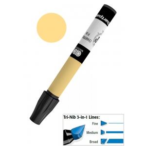 Chartpak® AD™ Art Marker Chrome Orange; Color: Orange; Ink Type: Xylene-Based; Tip Type: Tri-Nib; (model AP62), price per each