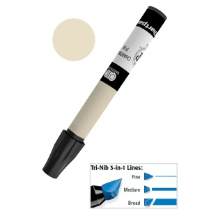 Chartpak® AD™ Art Marker Warm Gray #3: Black/Gray, Xylene-Based, Tri-Nib, (model AP193/BX), price per box