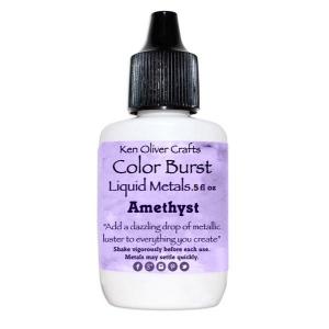 Ken Oliver - Color Burst - Liquid Metals - Amethyst