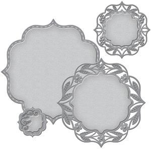 Spellbinders - Nestabilities - Deco Elements - Labels 50 Decorative Elements
