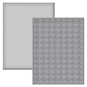 Spellbinders - Card Creator - Card Front - Houndstooth