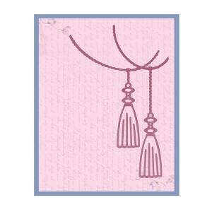 Couture Creations - Impression Die - Tassles Die