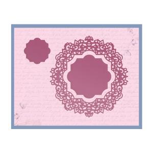Couture Creations - Impression Die - Magnolia Doily Die