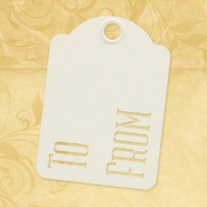 Graphic 45 - Staples - To & From - ATC Ivory Tags