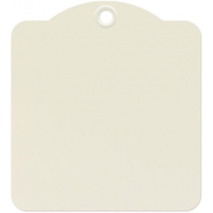 Graphic 45 - Staples - Square Tags - Ivory