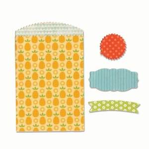 Sizzix - Thinlits Die Set 4 Pack - Mini Favor Bag by Brenda Walton