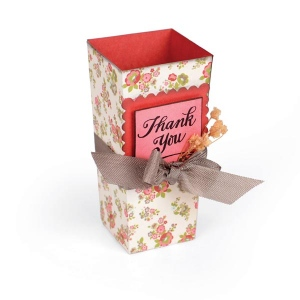 Sizzix - Bigz Die - French Favor Box by Brenda Walton