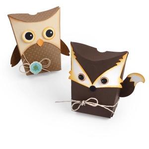 Sizzix - Thinlits Die Set 6 Pack - Box - Owl & Fox by Jen Long