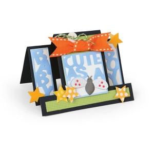 Sizzix - Framelits Die Set 15 Pack - Card - Cute as a Bug Step-Ups by Stephanie Barnard