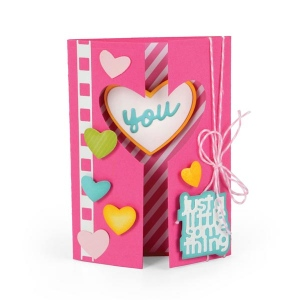 Sizzix - Framelits Die Set 20 Pack - Card - Mini Half by Stephanie Barnard