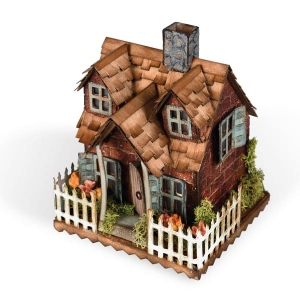 Sizzix - Tim Holtz Alterations - Bigz Die - Village Cottage