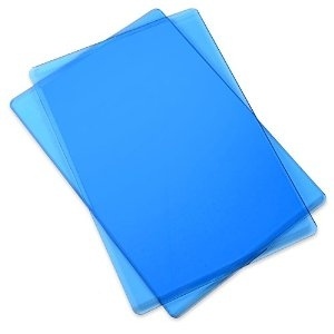 Sizzix - Cutting Pads - Standard - 1 Pair Blueberry